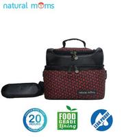 Natural Moms Thermal Bag/Cooler Bag - Sling Bag Red Velvet