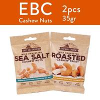 Paket Kacang Mede East Bali Cashews A - Kacang Mede Coklat & Lemon Pedas - Cemilan Sehat