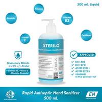 Sterilo Rapid Antiseptic Hand Sanitizer 500 ml - Antiseptik Medis Cair
