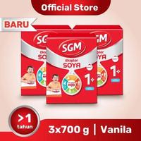 Paket 3 - SGM Eksplor SOYA Susu Pertumbuhan 1-5 Tahun Vanila 700 g