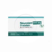 Neurotam Kaplet 800 mg (1 Strip @ 10 Kaplet)