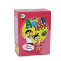 Jamu IBOE Anak - 1 Box Strawberry 5 Sachet