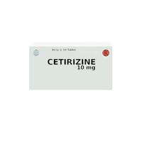 Cetirizine Tablet 10 mg (1 Strip @ 10 Tablet)
