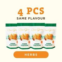 Casa Grata Crackers Funtasty 4 A - 4 Herbs