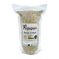 Beras Coklat Organik 1 kg - Merek Puspapari - Warung Hijau Trukajaya - Salatiga - Jagapati