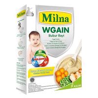 Milna Bubur Bayi Wgain Ayam Kacang Polong 6+ - 120 g