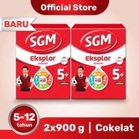 Paket 2 - SGM Eksplor 5 Plus Susu Pertumbuhan 5-12 Tahun Coklat 900 g