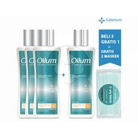 Beli 3 Gratis 1 Oilum Brightening Care Body Lotion 70 mL FREE Exclusive Masker SehatQ