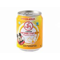 Cap Kaki Tiga Larutan Penyegar Anak Rasa Jeruk Kaleng 250 ml
