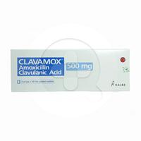 Clavamox Tablet 500 mg (3 Strip @ 10 Tablet)