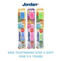 Jordan Kids Toothbrush Step 2 (3-5 Years) Soft (1 Pack @ 1 Pcs)