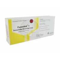 Farsorbid Tablet 5 mg (10 Strip @ 10 Tablet)