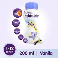 Nutrinidrink Makanan Diet Khusus Untuk Keperluan Kesehatan - Rasa Vanila 200 ml