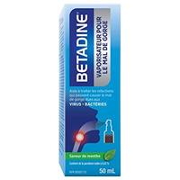 Betadine Throat Spray 50 ml