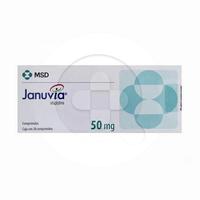 Januvia Tablet 50 mg (1 Strip @ 14 Tablet)