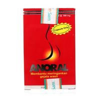 Anoral Kapsul (1 Botol @ 30 Kapsul)
