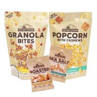 Paket East Bali Cashews 2 - EBC - Popcorn 90 g & Granola Bites 125 g - Snack Sehat - Jagapati