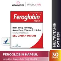 Vitabiotics Feroglobin Kapsul (30 Kapsul)