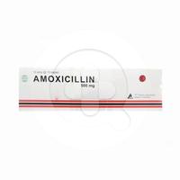 Amoxicillin Pharma Kaplet 500 mg (1 Strip @ 10 Kaplet)