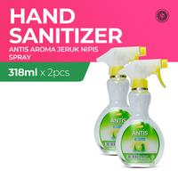 Antis Spray Jeruk Nipis 318 mL - 2 Botol