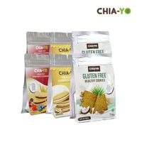 Chia-Yo Bundling 2 Cookies Gluten Free + 2 Vanilla + 2 Mix Berries