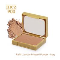 Inez 900 Refill Lustrous Pressed Powder - Ivory