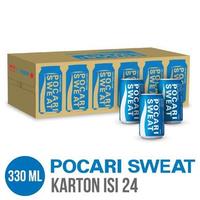 Pocari Sweat Can 330 ml - Karton Isi 24 Botol