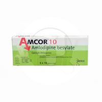 Amcor Tablet 10 mg (5 Strip @ 10 Tablet)