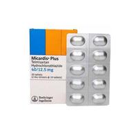 Micardis Plus Tablet 40 mg/12,5 mg (1 Strip @ 10 Tablet)