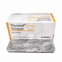 Thyrozol Tablet 5 mg (1 Strip @ 10 Tablet)