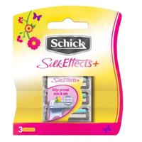 Schick Silk Effects Refill - 3 Cartridges