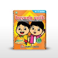 Buyung Upik Rasa Jeruk (1 Box @ 11 Sachet)