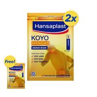 BELI 2 GRATIS 1 Hansaplast Koyo Big Patch Hangat 5's