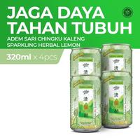 Adem Sari Ching Ku Sprakling Lemon 320 mL x 4