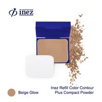 Inez Color Contour Plus Refill Compact Powder - Beige Glow