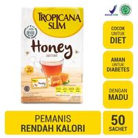 Tropicana Slim Sweetener Honey (1 Box @ 50 Sachet)