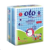 OTO Adult Diapers Pants / Popok Dewasa Model Celana - L (1 Pack @ 4 Pcs)