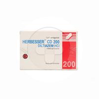 Herbesser CD Tablet 200 mg (1 Strip @ 10 Tablet)