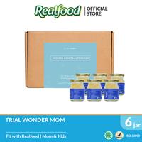 Realfood Trial Program Wonder Mom Fully Concentrated Bird's Nest dengan Asam Folat