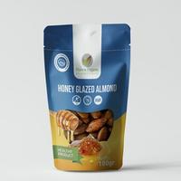 Francis Organic Honey Glazed Crunchy Almonds - Pocket Size 100 g