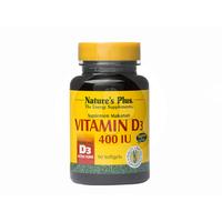 Nature's Plus Vitamin D3 400 IU Softgel (90 Softgel)