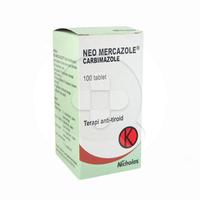 Neo Mercazole Tablet (1 Botol @ 100 Tablet)