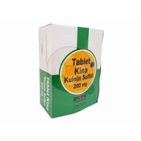 Tablet Kina 200 mg (1 Strip @ 12 Tablet)