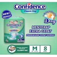 Confidence Popok Dewasa Classic Day M 8