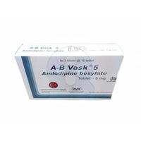 A-B Vask 5 mg Tablet (3 Strip @ 10 Tablet)