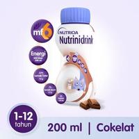 Nutrinidrink Makanan Diet Khusus Untuk Keperluan Kesehatan - Rasa Cokelat 200 ml