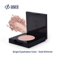 Inez Single Eyeshadow Color Gold Shimmer