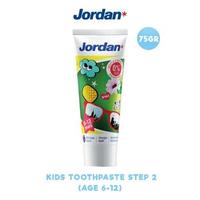 Jordan Kids Toothpaste Step 2 (6-12 Years) 75 g