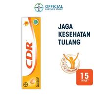 CDR Tablet Effervescent Rasa Jeruk Mandarin (1 Tube @ 15 Tablet)