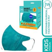 Maskit Masker Duckbill Earloop Anak 4Ply - Tosca (10 Pcs)